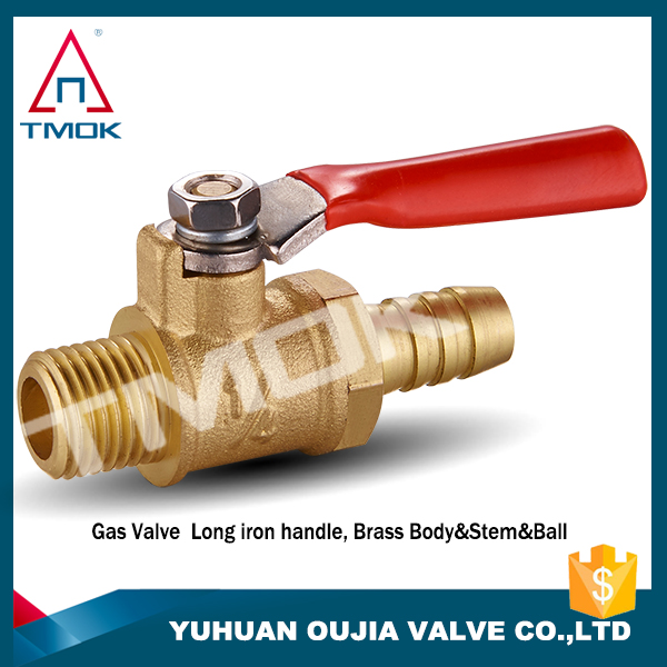 superior brass mini ball gas valve hydraulic washing machine hose cock motorized PN40 control valve relief forged full port in