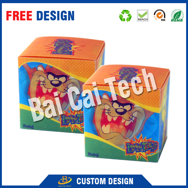 Sweet wedding candy packaging paper box,full color printing box