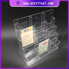 Manufacturers Promotion Acrylic Display Stand Acrylic Menu Holder Donation Clear Acrylic Display Box With Lock Lid