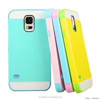 lovely credit card holder Crystal hard cover and TPU for samsung galaxy S5