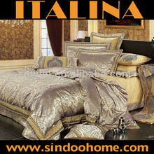Polyester/cotton jacquard Bedding Set