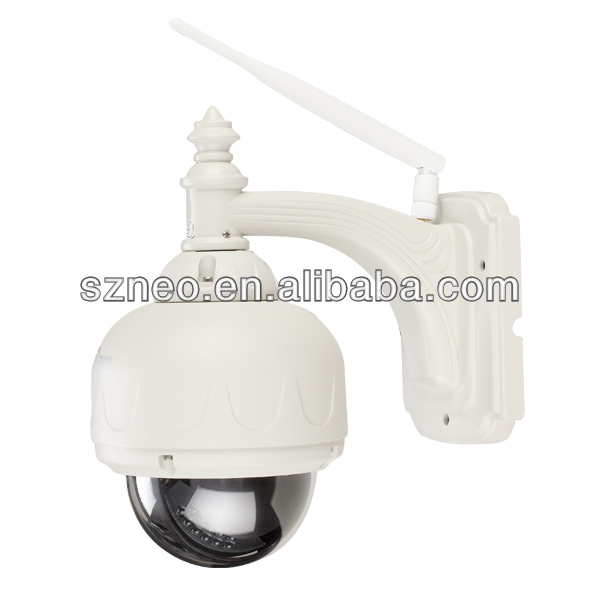 Intelligent megapixel PTZ high speed 360 degree rotation 720P IP speed dome outdoor wireless wifi hd ip camera