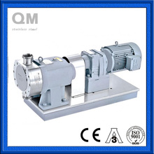 Stainless Steel SS304 SS316l Sanitary Vertical Lobe Pump