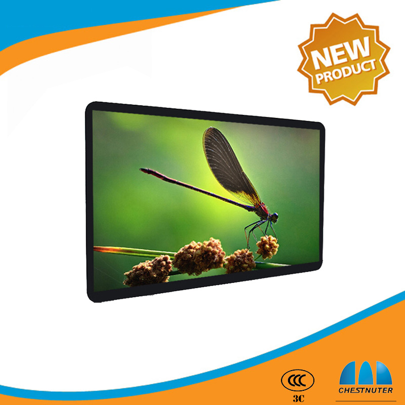 46 inch lcd monitor usb video media player for advertising ad display