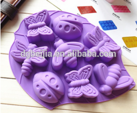 All Inclusive Insects Shaped Silicon Mold/Cake Molds For Baking