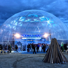 Guangzhou Large Transparent Geodesic Dome Tent For Sale