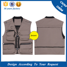 Wholesale Multi-functional Photographer Vest, Camera Jacket
