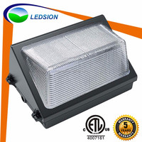 LEDSION manufactured Newest Hot Selling outdoor lighting 60w led wall pack lights with good color warm,natural,pure cool white