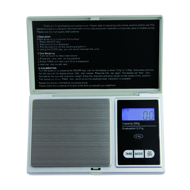 100g 0.01g Mini LCD Digital Pocket Jewelry Gold Diamond Scale Gram