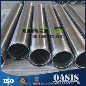 Water Well Drilling Rod Based Wedge Wire Screens Pipe