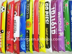 inflatable cheering balloon stick