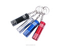 Promotional Mini 3*LED Bulbs Aluminium alloy Flashlight Keychain