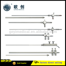 surgical instrument laparoscopic sliding suction and irrigation tube