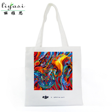 Custom Canvas Shopper Bag AZO Free with Long Shoulder