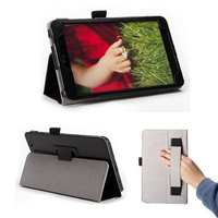 Slim Fit Flip Folio Stand leather case for lg g pad 8.3