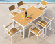 New design high quality outdoor table set polywood 6 chairs dining set