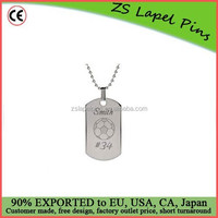 Fashion design custom made quality aluminium bulk cheap personalized dog tags