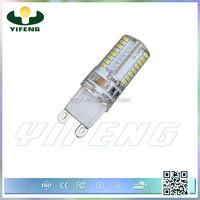 LED g9 bulb 5W 330 lumen high lumens led 12v