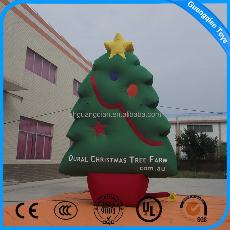 Giant Inflatable Christmas Tree Model,Inflatable Cartoon,Inflatable Cartoon Characters