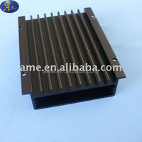 Power supply enclosure amplifier housing