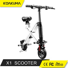 Electric scooter bike two wheels 36V 350W folding electric mobility scooter