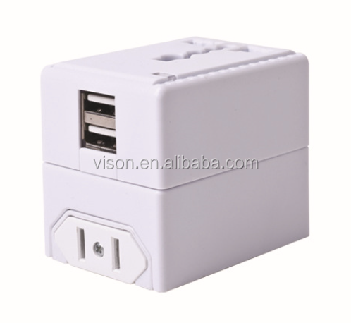 universal travel adapter/travel plug adapter/switching power adapter