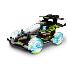 RC Car 1:18 Scale 4CH RC high speed racing Car with light and music Juguetes cheaper price