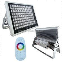 factory price high brightness color changing 200w RGB led flood light with IP65