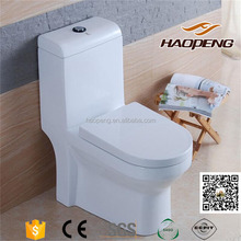 Chaozhou Ceramic Factory Washdown 4 Inch Outlet Cheap WC Toilet Commode