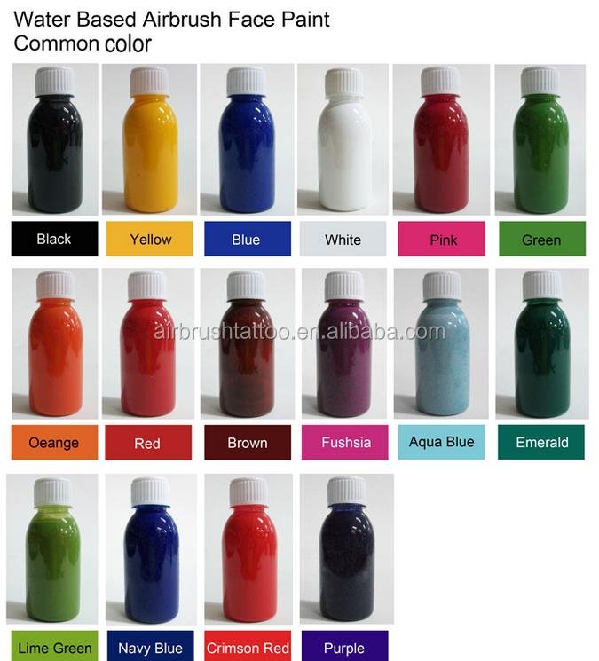 Non Toxic Body Spray Paint