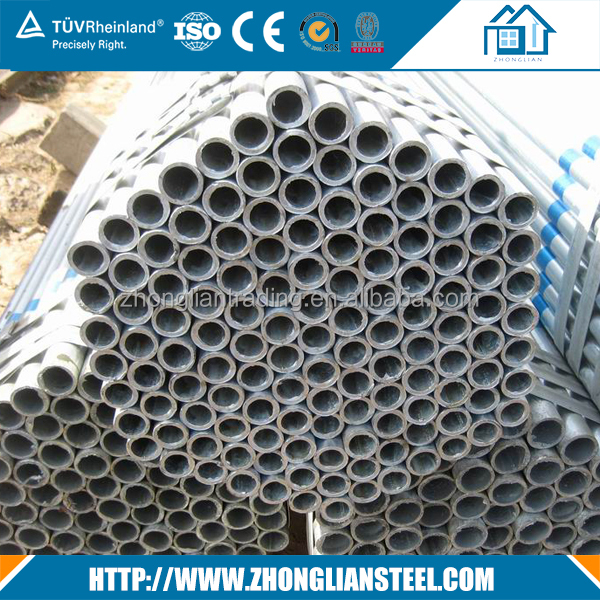 Manufacturer directly supply pre-galvanized steel pipe manufacturer from China