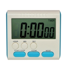 Large LCD Display Multi-Function Count Up Countdown Kitchen Timer Magnetic Digital Timer Clock