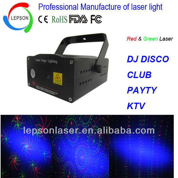 150mW mini laser stage lighting price with LED