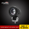 "2"" 10w round shape Headlight 10W round cree led motor light LED spot 10w bicycle lights"