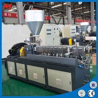Cheap laboratory Twin Screw plastic extruder granulator