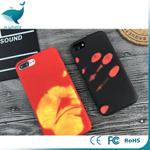 newest change color for iphone7 silicone case, free sample for iphone 7 plus case