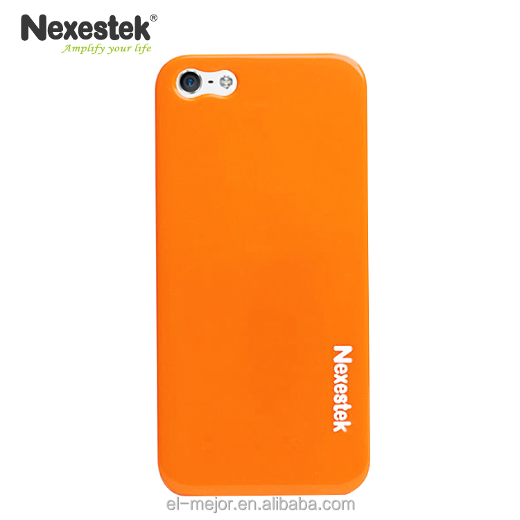 Made in Taiwan Product for iPhone 5, 5S, SE Orange Mobile Phone Case/ Nexestek brand