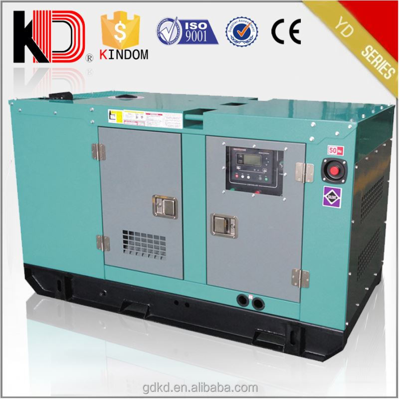 30kva power electirc silent diesel generator set genset price yangdong diesel engine parts