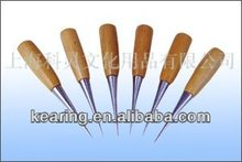 kearing brand,Cucurbit Wooden awl,Handicraft Awls hand tools,Sewing Wooden awl,Wooden handle awl for sewing #HA6590