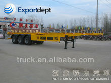 Good Sale 3 Axles 40ft ISO Container Chassis In Truck Semi Trailer Or Semi-trailer Truck