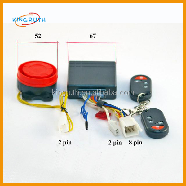 12V Remote Control Kill Switch Cut Off 50cc ATV engine spare parts alarm system motorcycle
