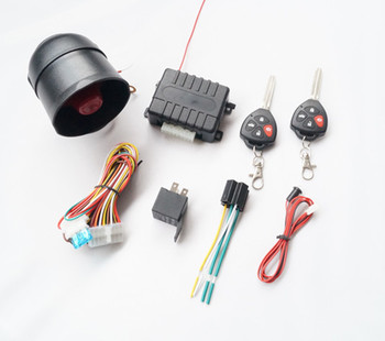 one way car alarm system security with Side door and Trunk +/- optional