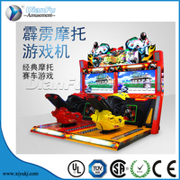 DianFu Latest Moto GP4/best sell motor racing game machine for sale