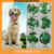 Sparkle dog nail cap Soft Claws Nail Cap Paw Caps Pet Nail Cover claw grooming control with adhesive