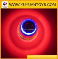 2015 Best Selling LED Flashing Solid Color Laser Spinning Top