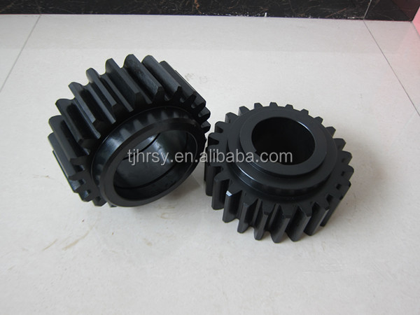 Big spur gear with case harden HRC50-55