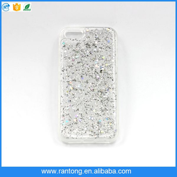 2016 Fashion beautiful mobile phone back cover Bling bling cell phone case for iphone 6