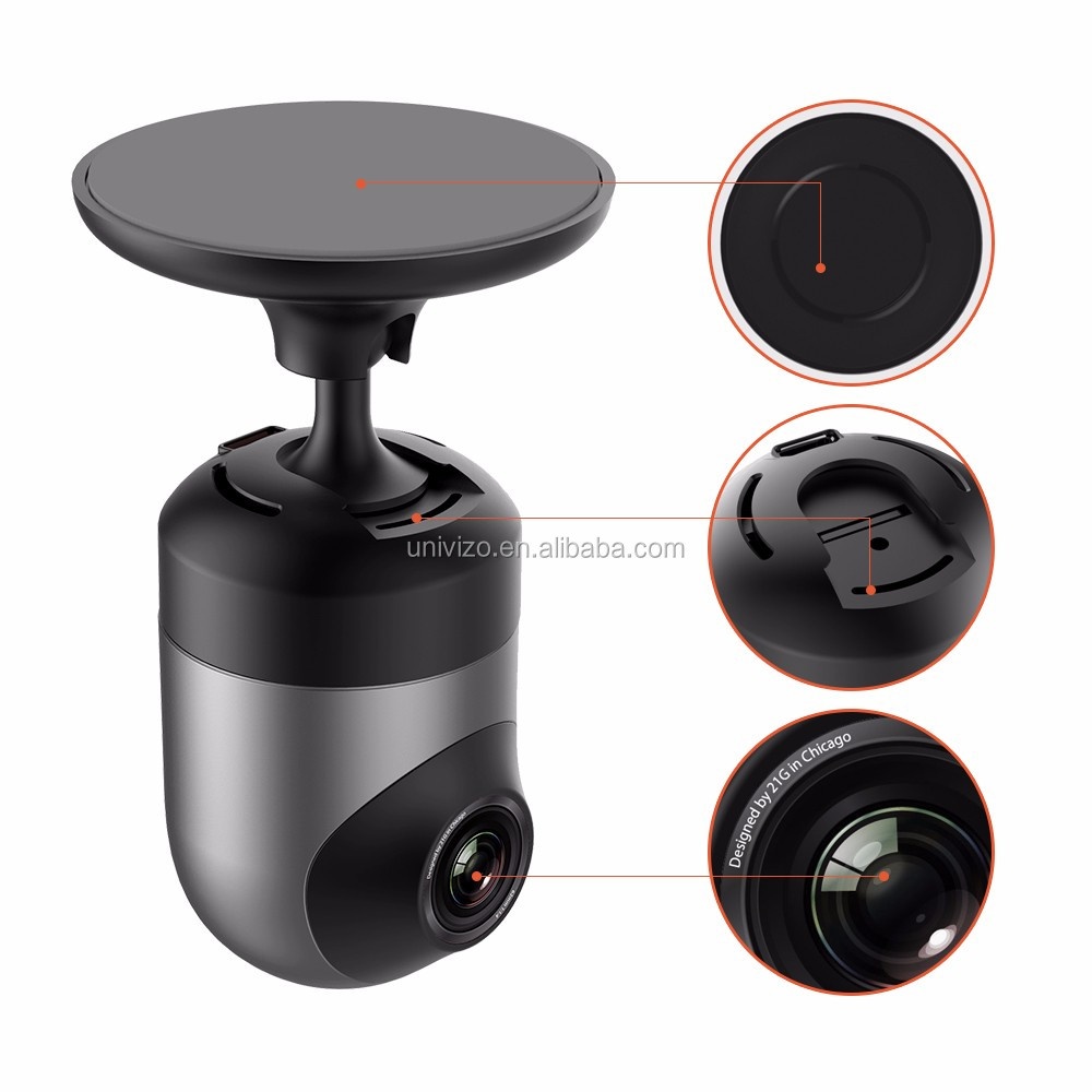 Mini size car camera video recorder 360 dual lens camera dash cam manufacturers