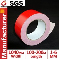Red skin Single Water Glue/Hotmelt/Solvent adhesive EVA Foam Tape for Post hook