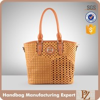 4094 Best selling products women fashion hand bag brown leather tote bags 2016 designer handbag